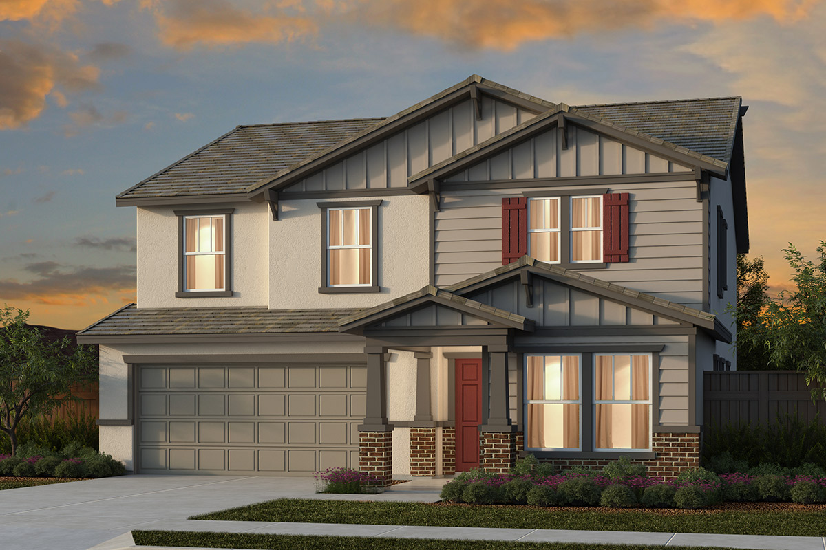New Homes in Manteca, CA - Plan 2674 - Craftsman
