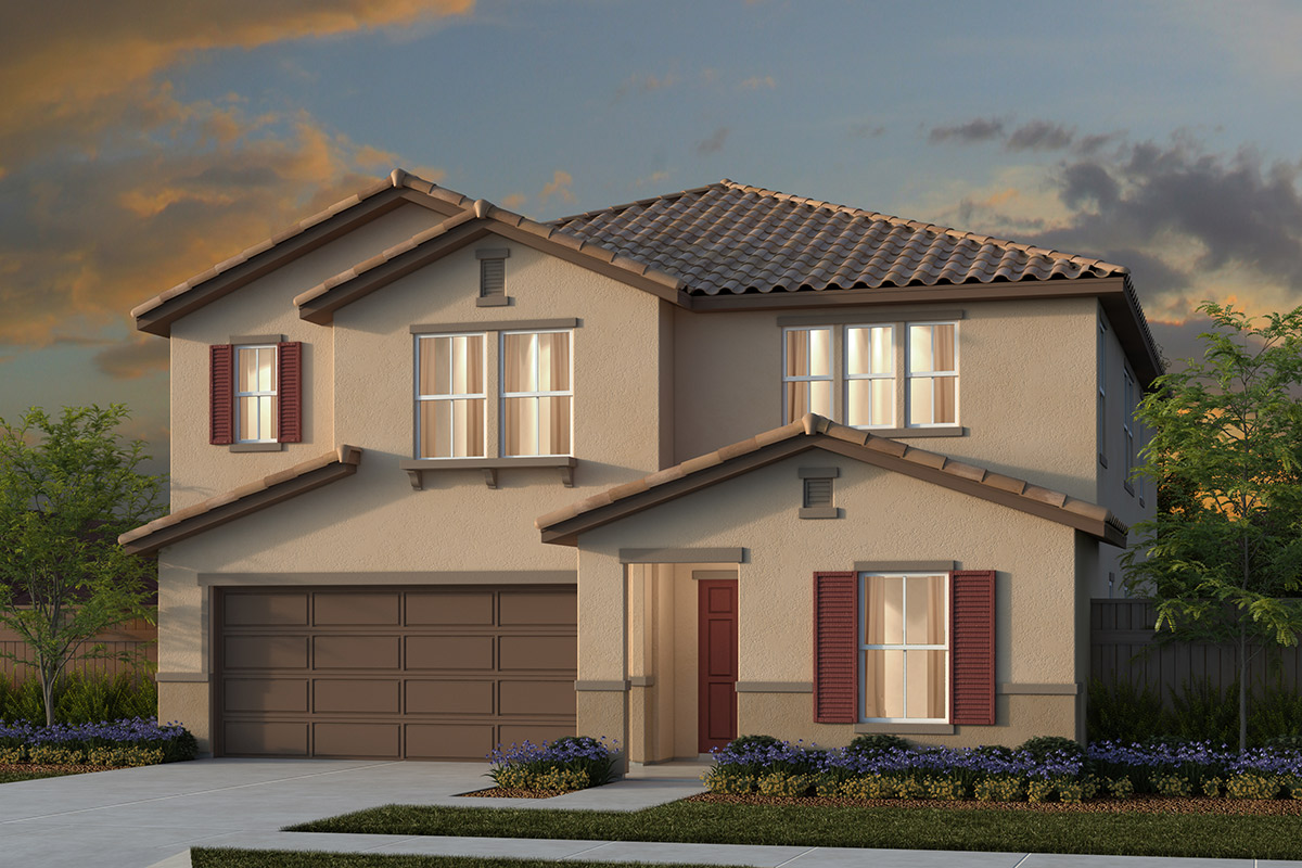New Homes in Manteca, CA - Traditional 3061 - Tuscan