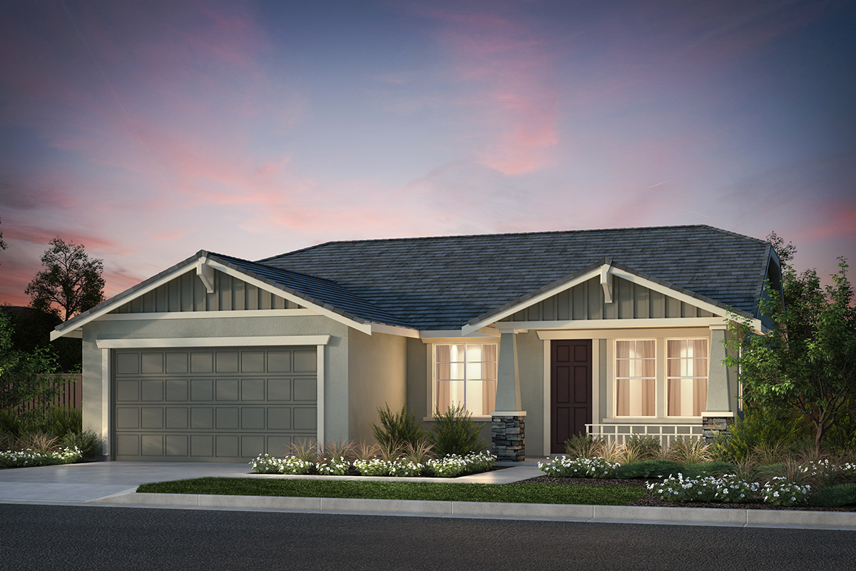 New Homes in Hollister, CA - Plan 3 Craftsman