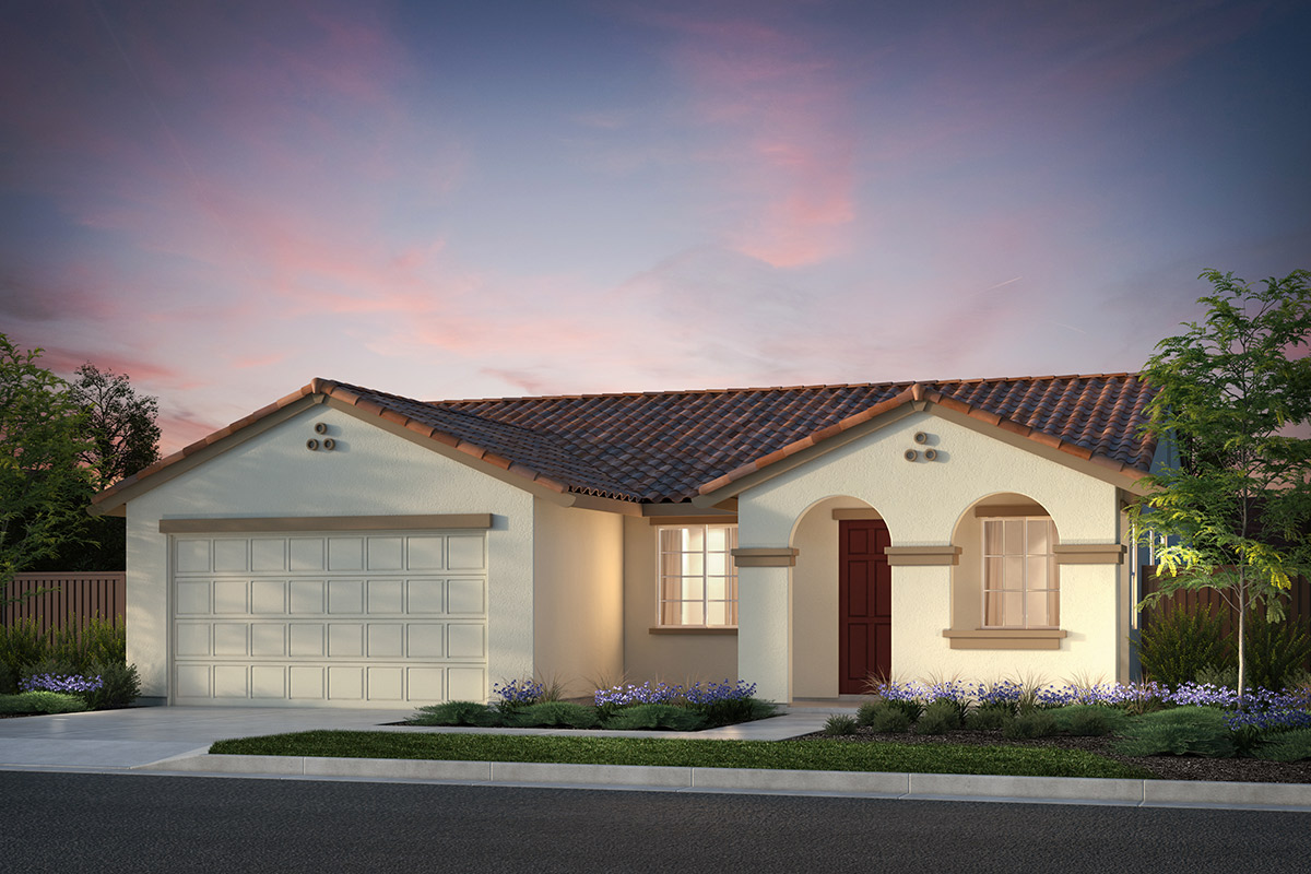 New Homes in Hollister, CA - Plan 3 Early California