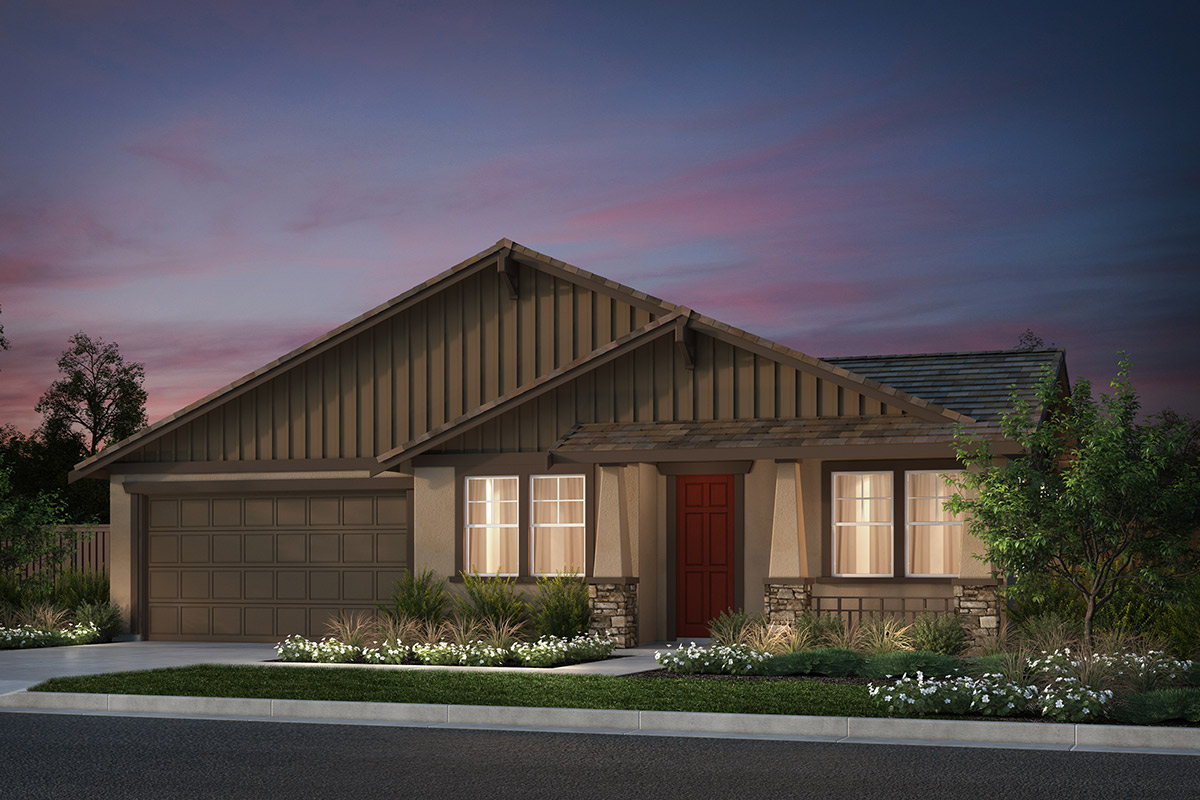 New Homes in Hollister, CA - Plan 4 Modeled