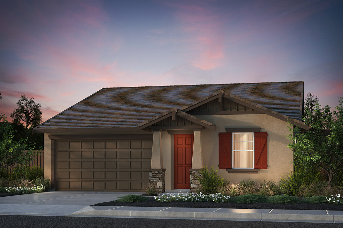 New Homes in Hollister, CA - Plan 2 Craftsman