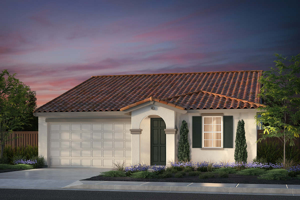 New Homes in Hollister, CA - Sunnyside Estates Plan 2 Early California