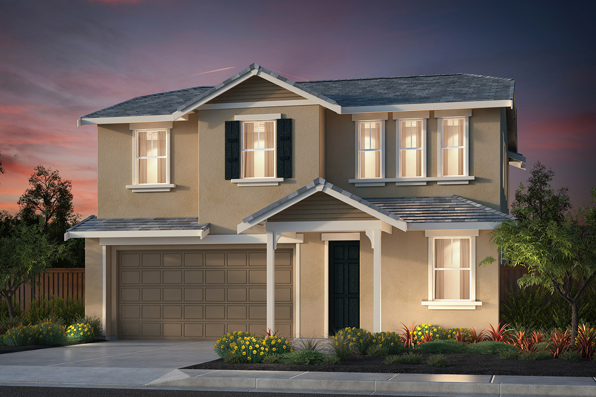 New Homes in Hollister, CA - Plan 5 French