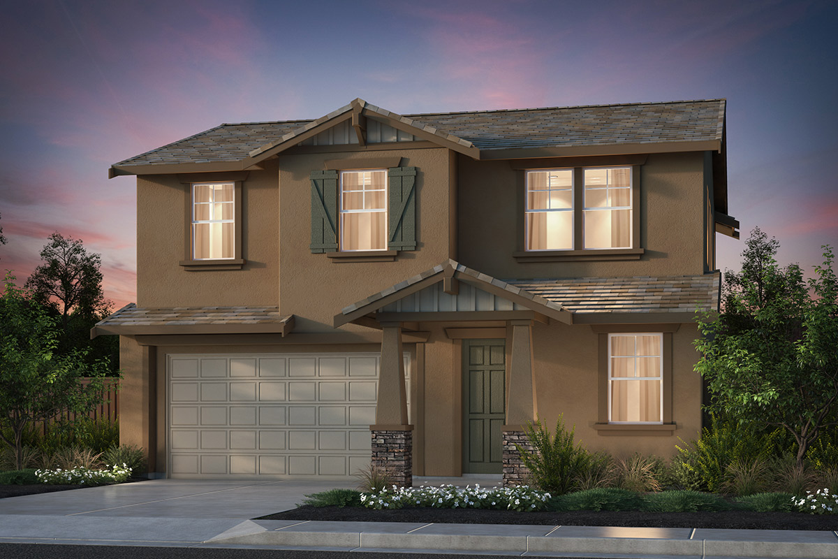 New Homes in Hollister, CA - Plan 5 Craftsman