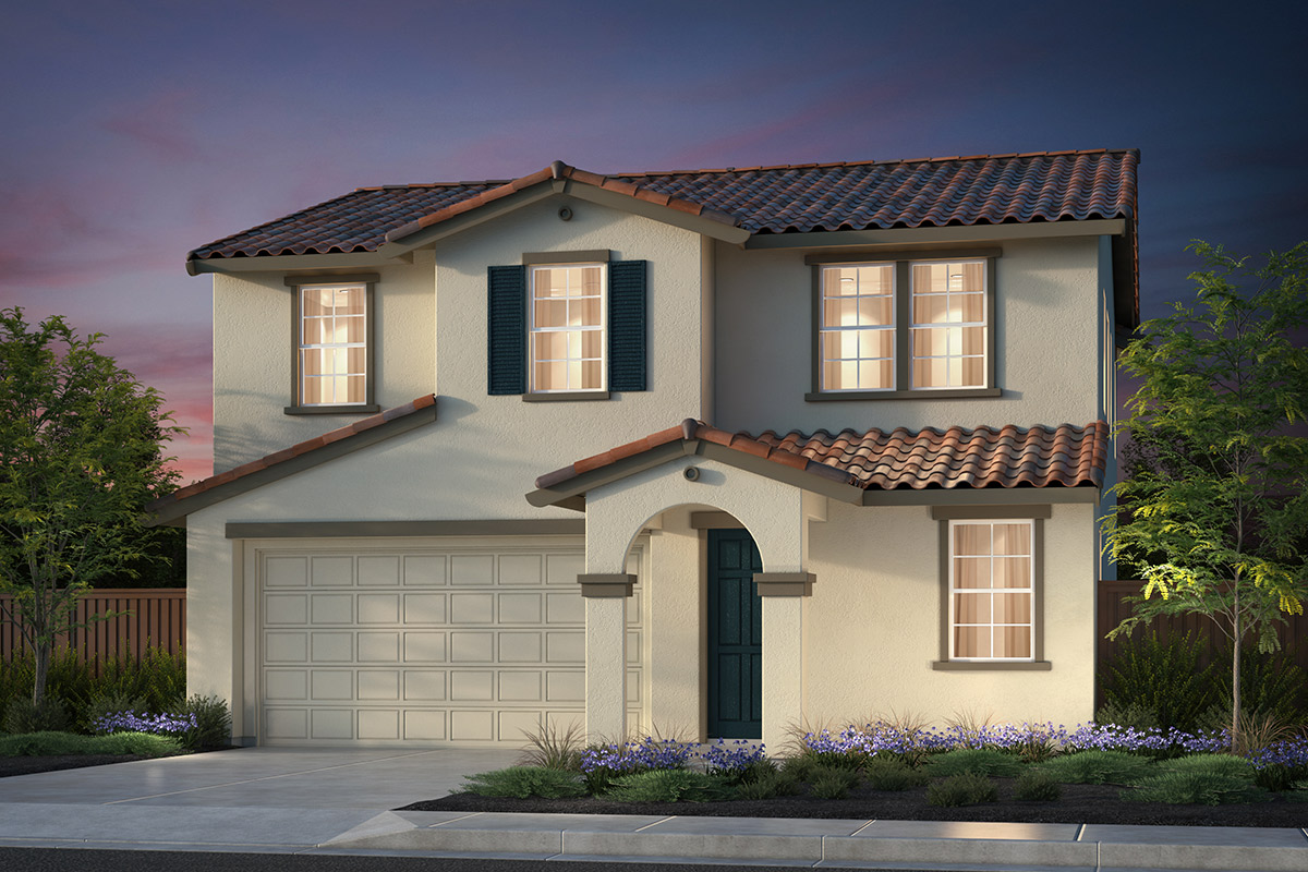 New Homes in Hollister, CA - Plan 5 Early California