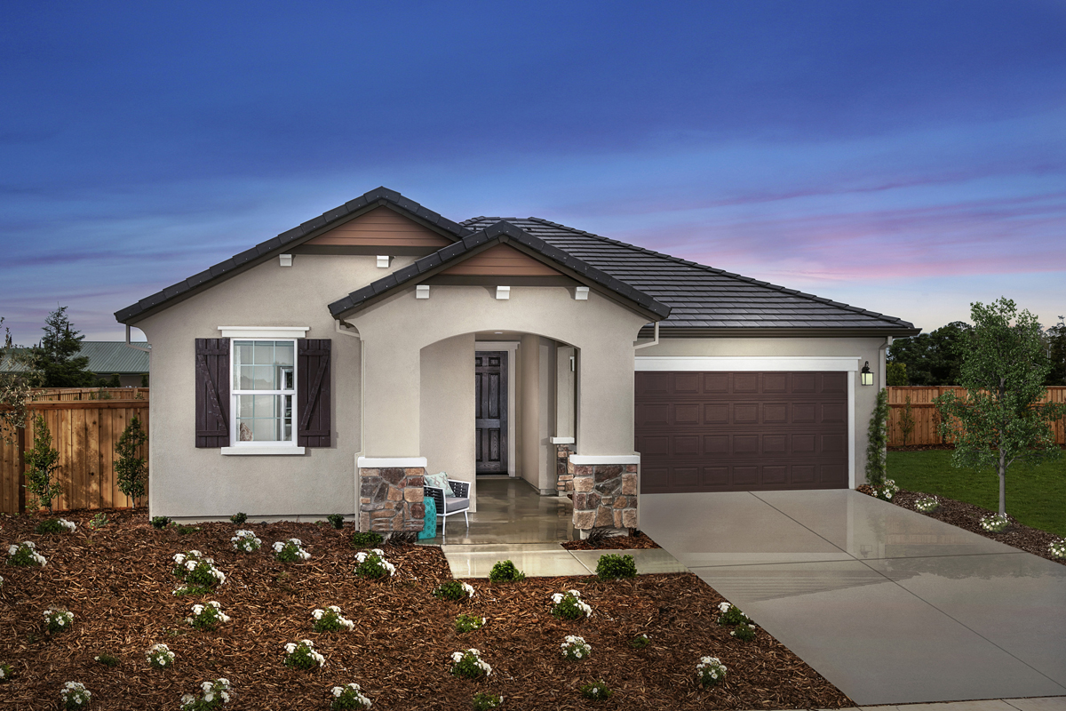 New Homes in Patterson, CA - Plan 1450 Modeled