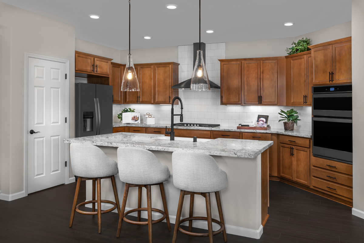 New Homes in Patterson, CA - Turnleaf at Patterson Ranch Plan 1934 - Kitchen