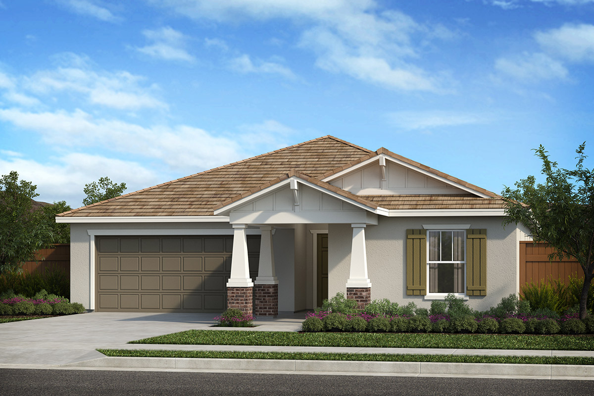 New Homes in Patterson, CA - Plan 1769 Craftsman 'B'