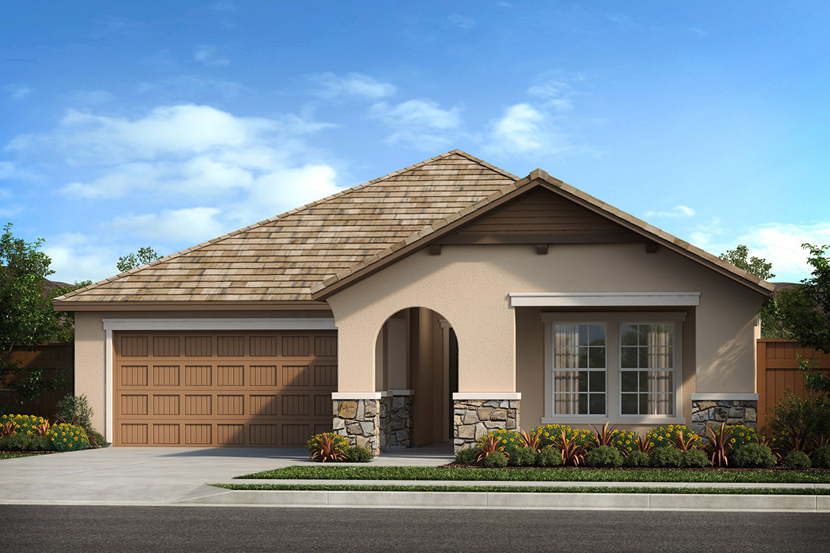 New Homes in Patterson, CA - Plan 1769 French Cottage 'D'