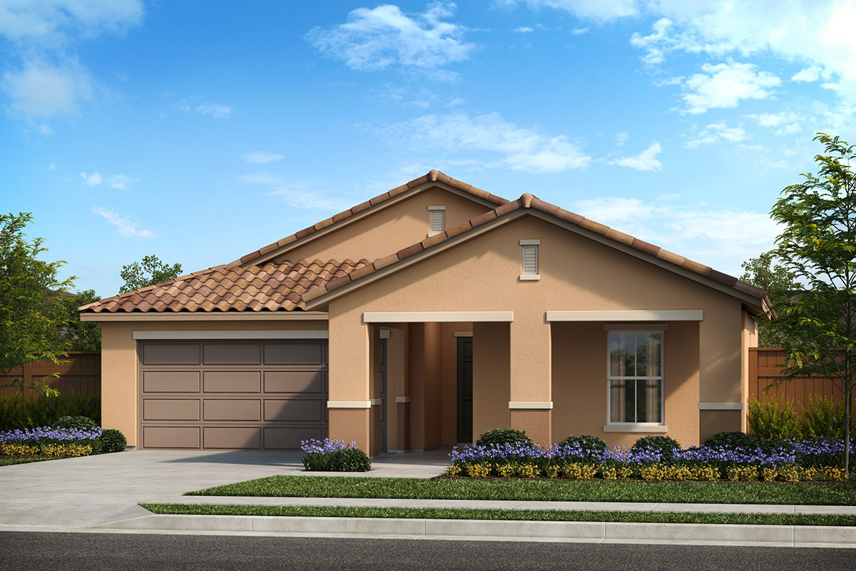 New Homes in Patterson, CA - Turnleaf at Patterson Ranch Plan 1769 Tuscan 'E'