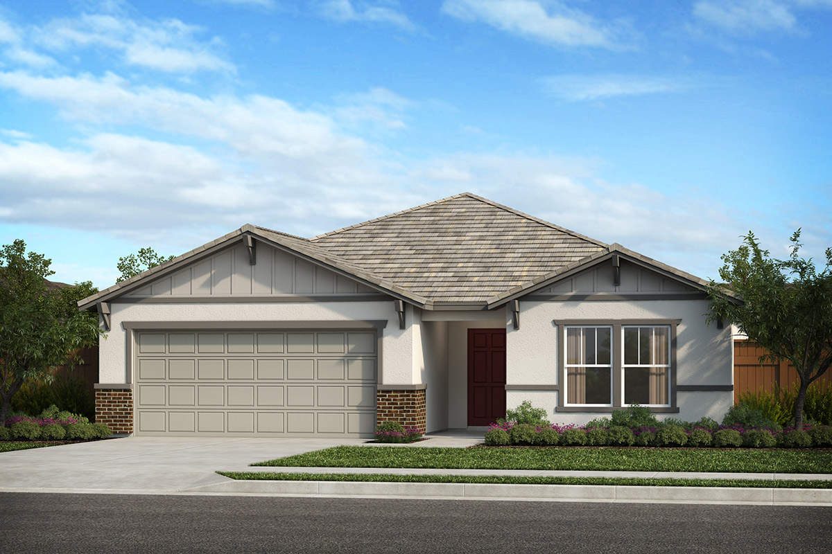 New Homes in Patterson, CA - Turnleaf at Patterson Ranch Plan 1934 Craftsman 'B'