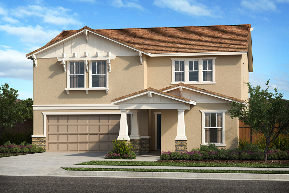 New Homes in Patterson, CA - Turnleaf at Patterson Ranch Plan 2308 Craftsman 'B'
