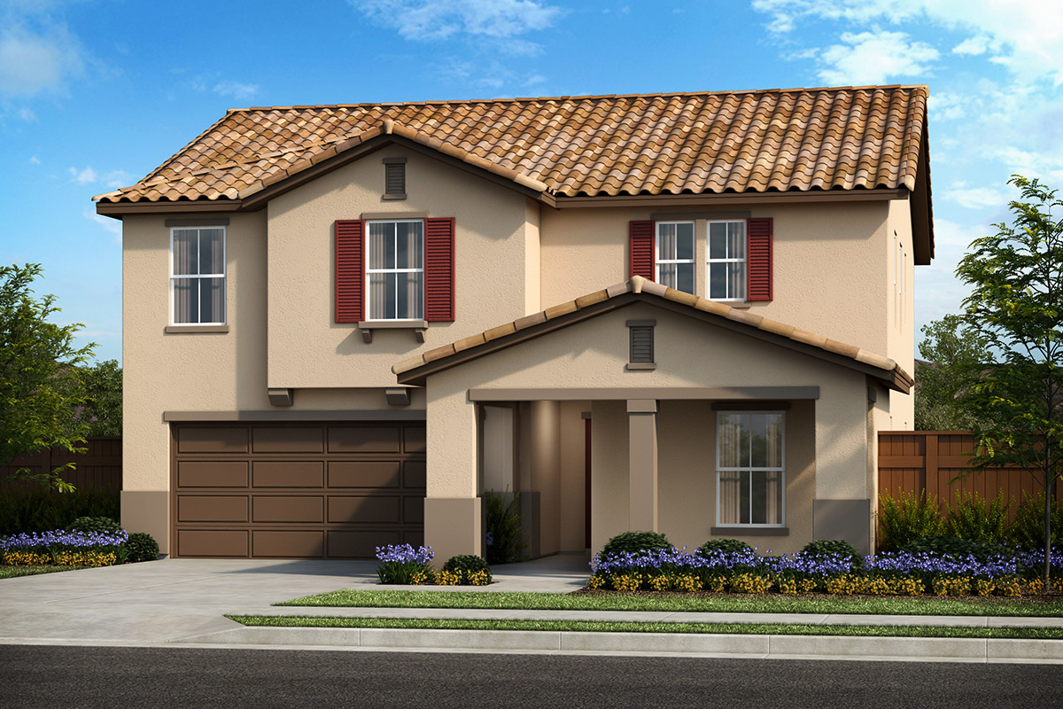 New Homes in Patterson, CA - Turnleaf at Patterson Ranch Plan 2308 Tuscan 'E'