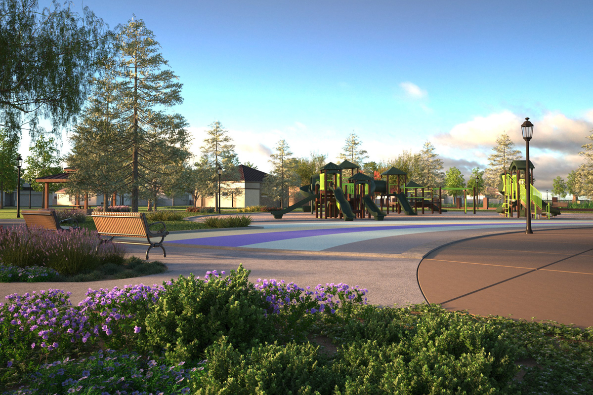 New Homes in Oakley, CA - Westerly at Delaney Park Park and Playground