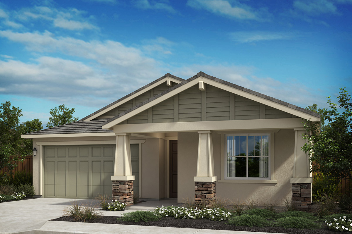 New Homes in Oakley, CA - Westerly at Delaney Park Plan 1D - Craftsman