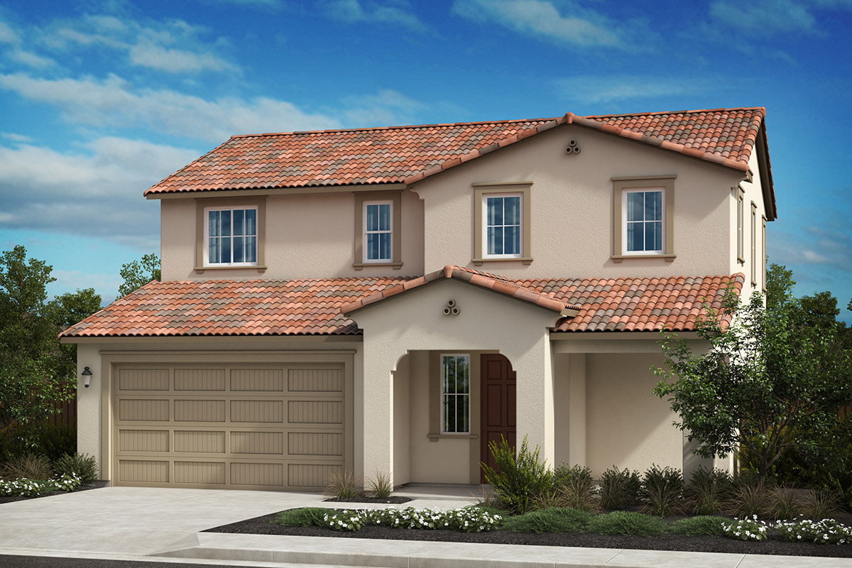 New Homes in Oakley, CA - Westerly at Delaney Park Plan 2A - Spanish