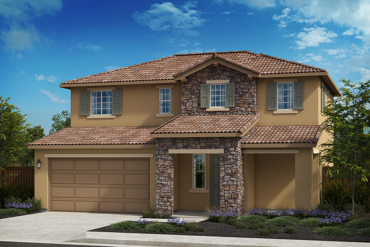 New Homes in Oakley, CA - Westerly at Delaney Park Plan 2C - Tuscan