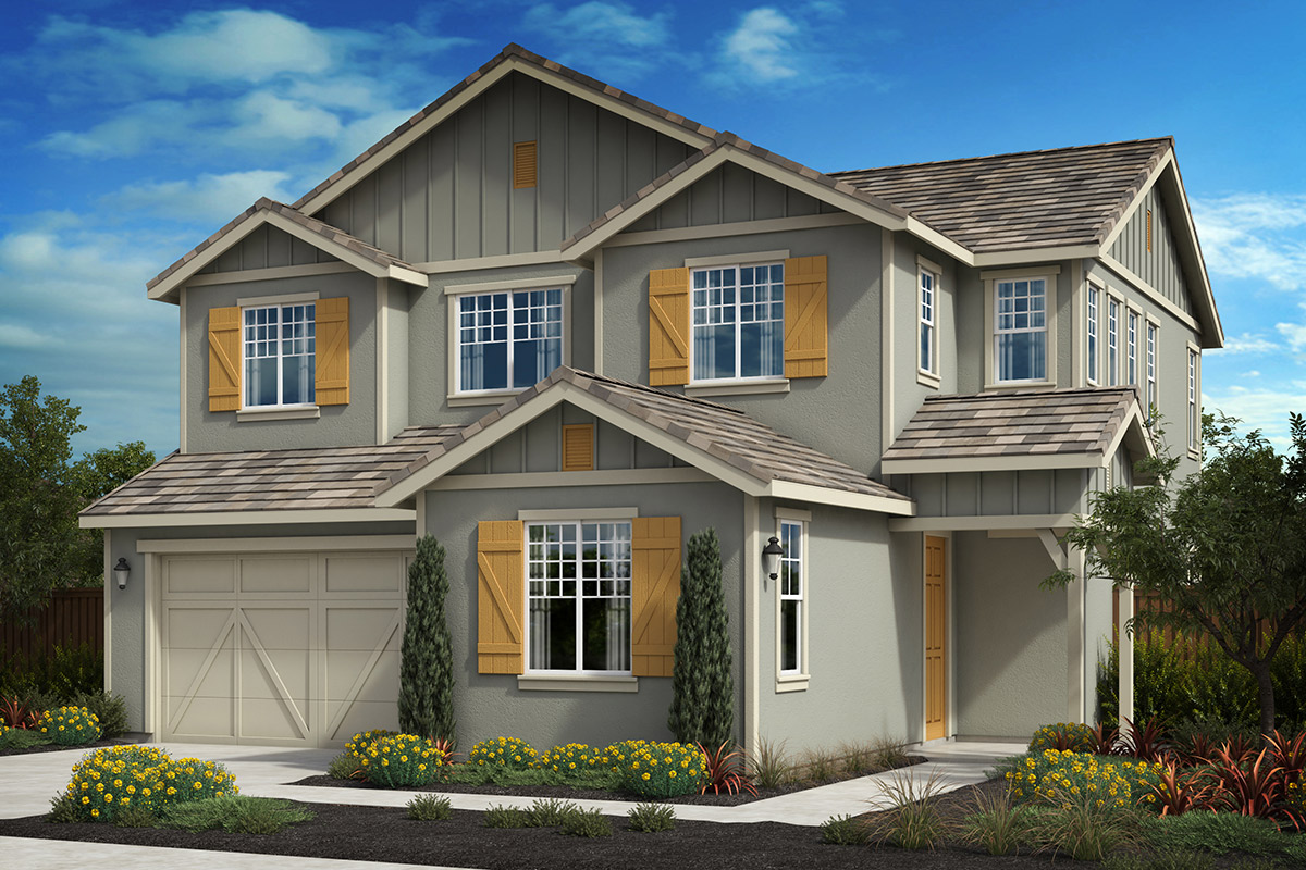 New Homes in Oakley, CA - Westerly at Delaney Park Plan 3B - Farmhouse