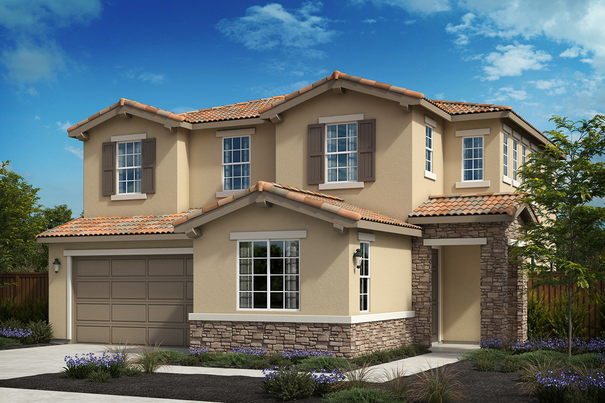 New Homes in Oakley, CA - Westerly at Delaney Park Plan 3C - Tuscan