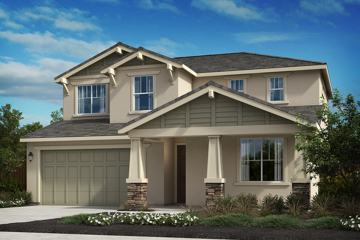 New Homes in Oakley, CA - Westerly at Delaney Park Plan 4D - Craftsman