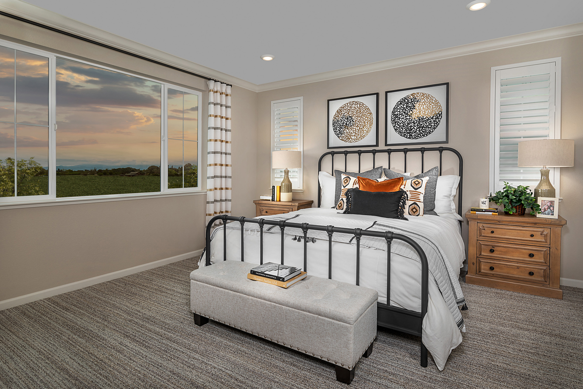 New Homes in Oakley, CA - Westerly at Delaney Park Plan 3 - Master Bedroom