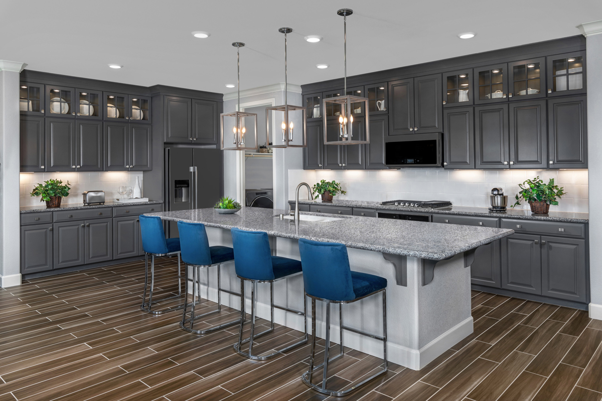 New Homes in Oakley, CA - Westerly at Delaney Park Plan 1 - Kitchen