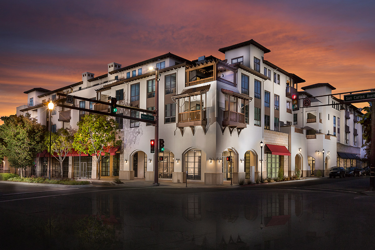 New Homes in San Carlos, CA - The Residences at Wheeler Plaza Homesite 505