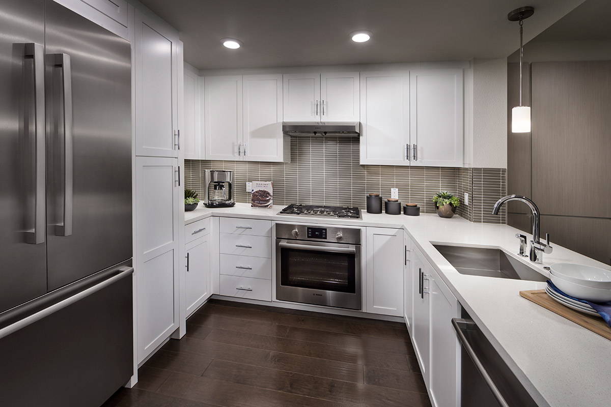 New Homes in San Carlos, CA - The Residences at Wheeler Plaza The Residences at Wheeler Plaza - Kitchen