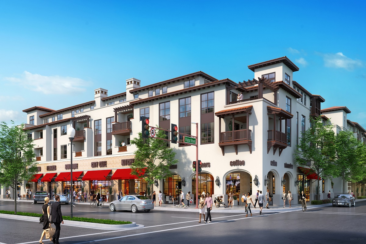 New Homes in San Carlos, CA - The Residences at Wheeler Plaza Plan P1-1
