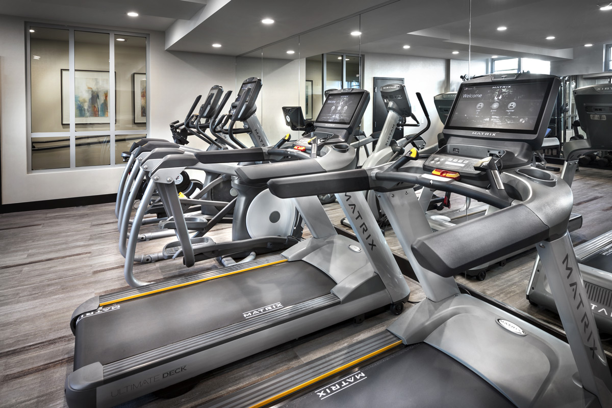 Fitness Area at The District, San Francisco