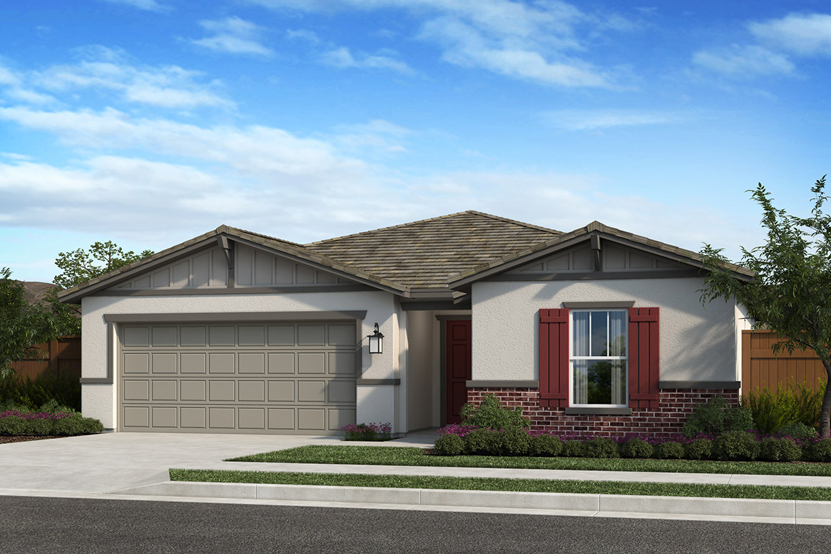 New Homes in Madera, CA - Fielding Plan 1384 Elevation B
