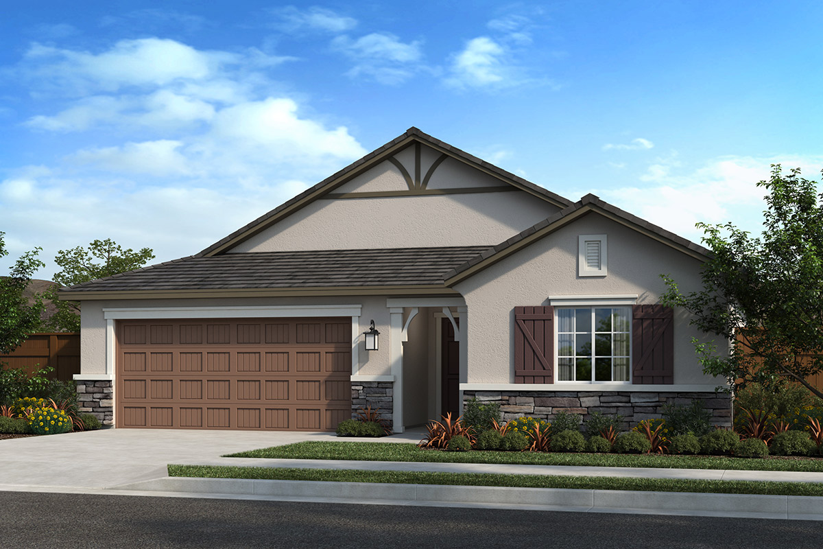 New Homes in Madera, CA - Fielding Plan 1384 Elevation D