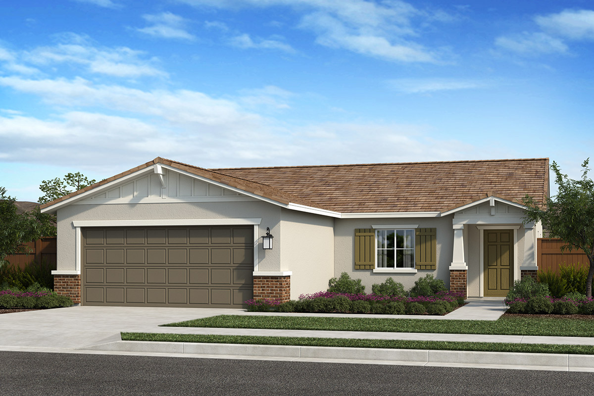 New Homes in Madera, CA - Fielding Plan 1449 Elevation B