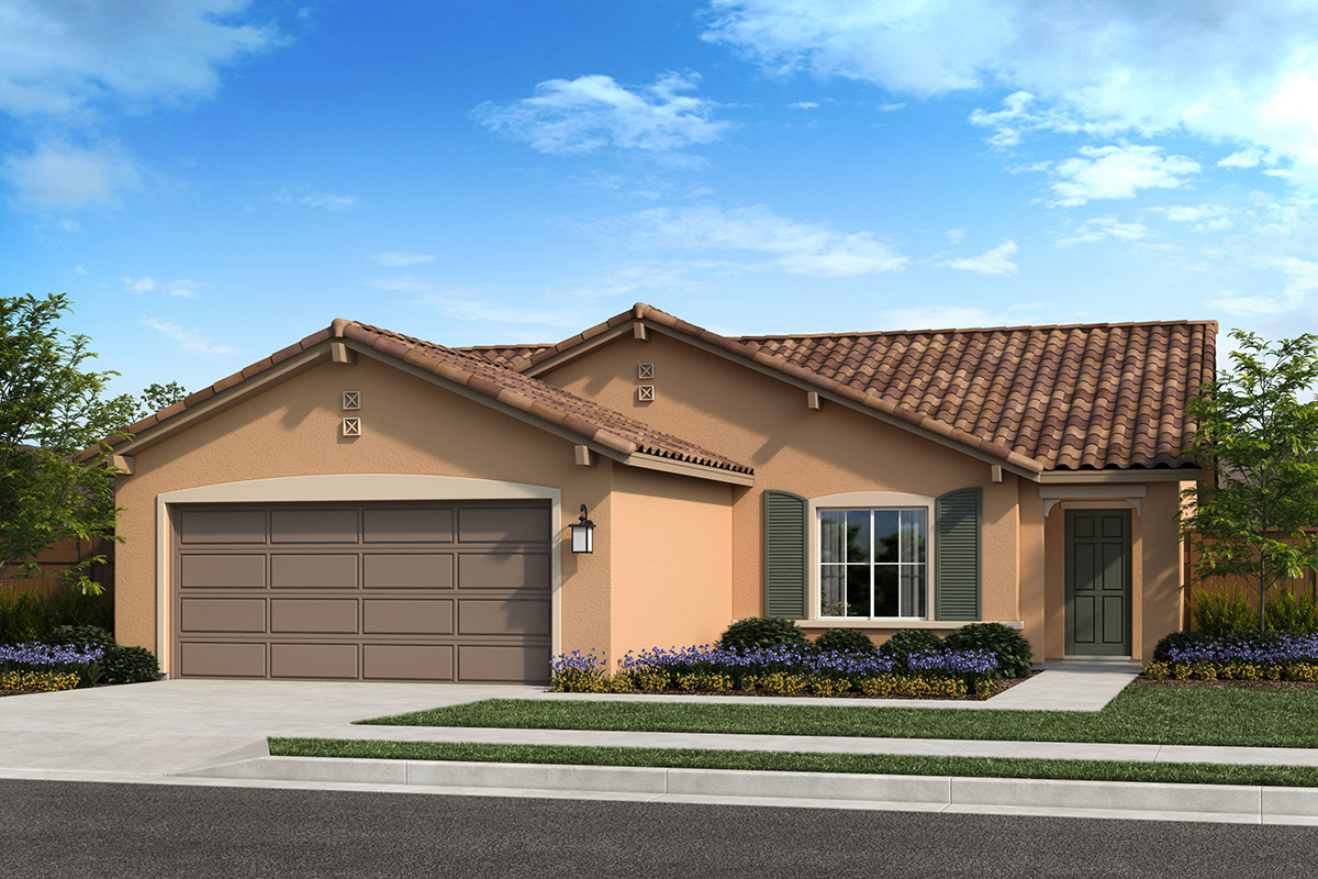 New Homes in Madera, CA - Fielding Plan 1449 Elevation E