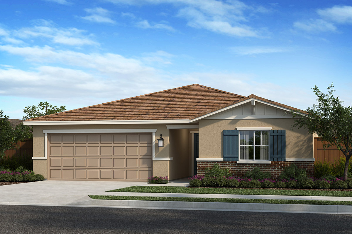 New Homes in Madera, CA - Fielding Plan 1557 Elevation B