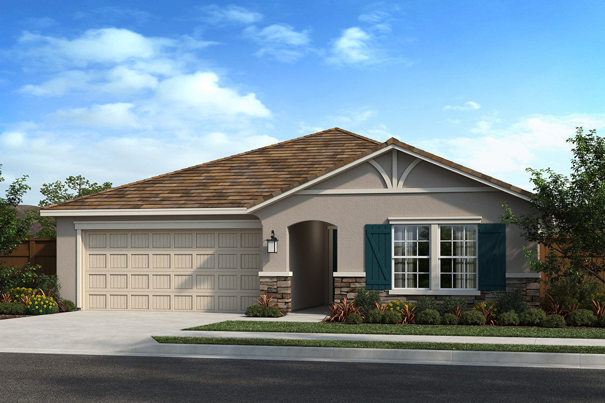 New Homes in Madera, CA - Elevation D