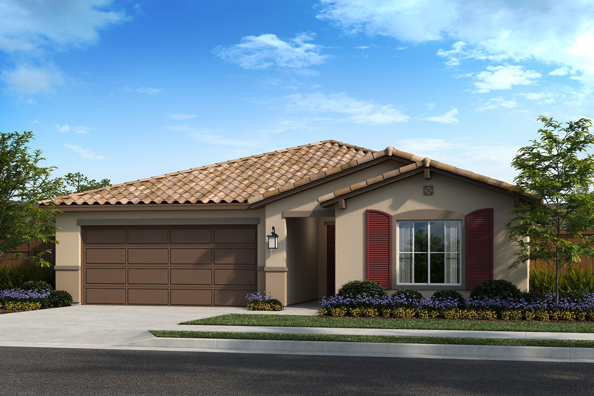 New Homes in Madera, CA - Fielding Plan 1557 Elevation E