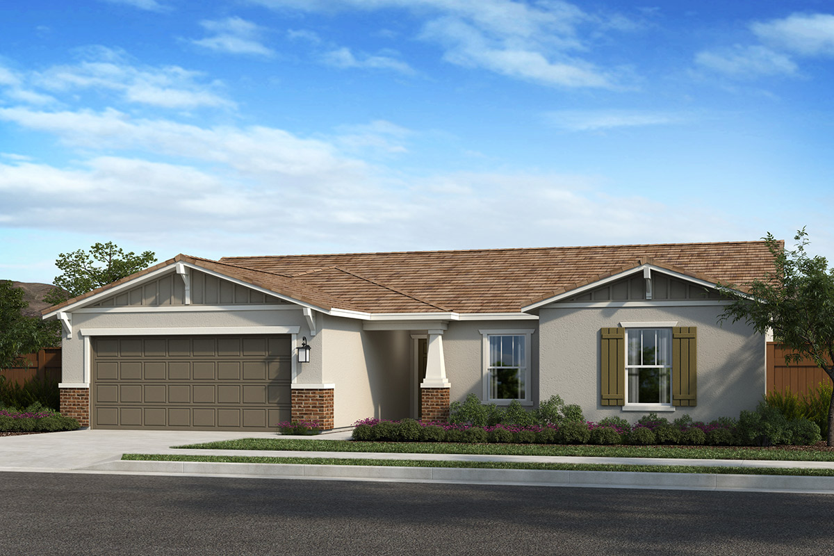 New Homes in Madera, CA - Plan 1773 Elevation B