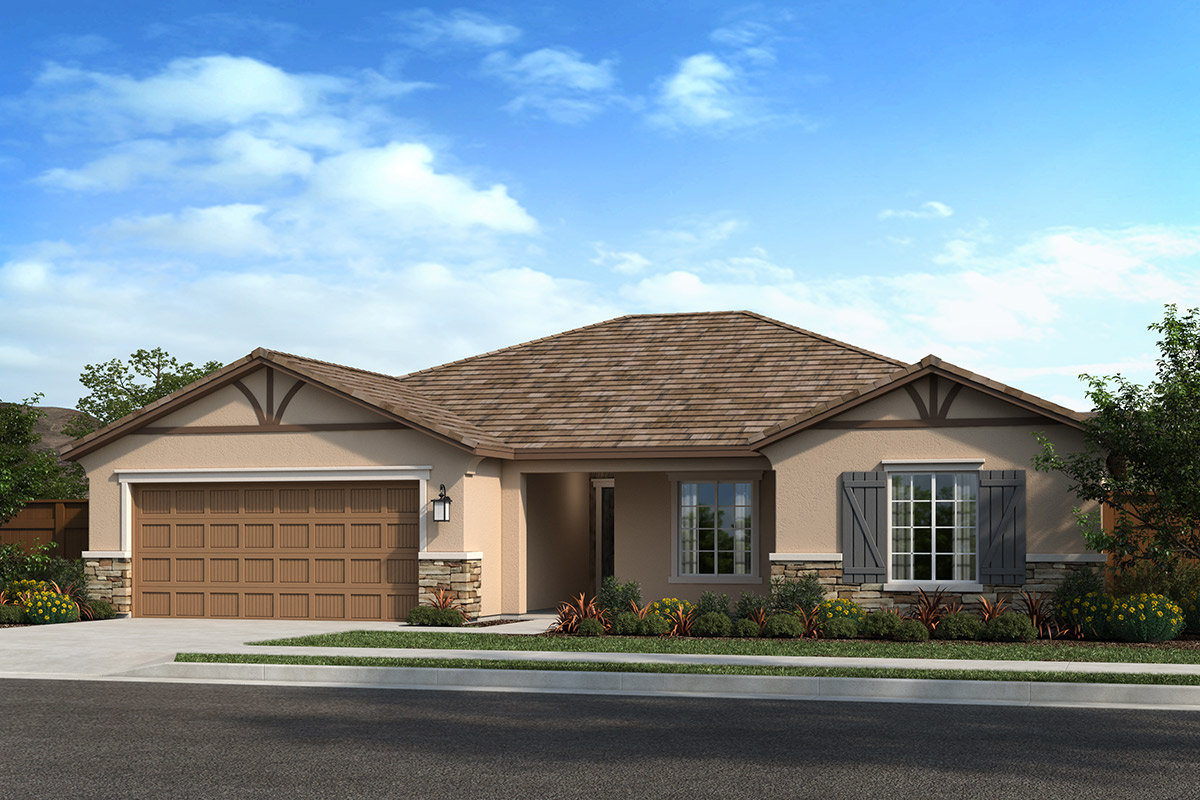 New Homes in Madera, CA - Plan 1773 Elevation D