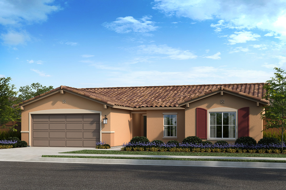 New Homes in Madera, CA - Plan 1773 Elevation E