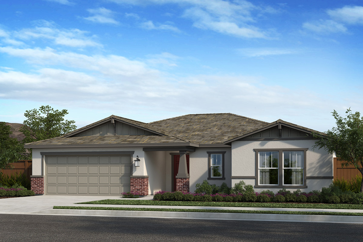 New Homes in Madera, CA - Plan 1860 Modeled