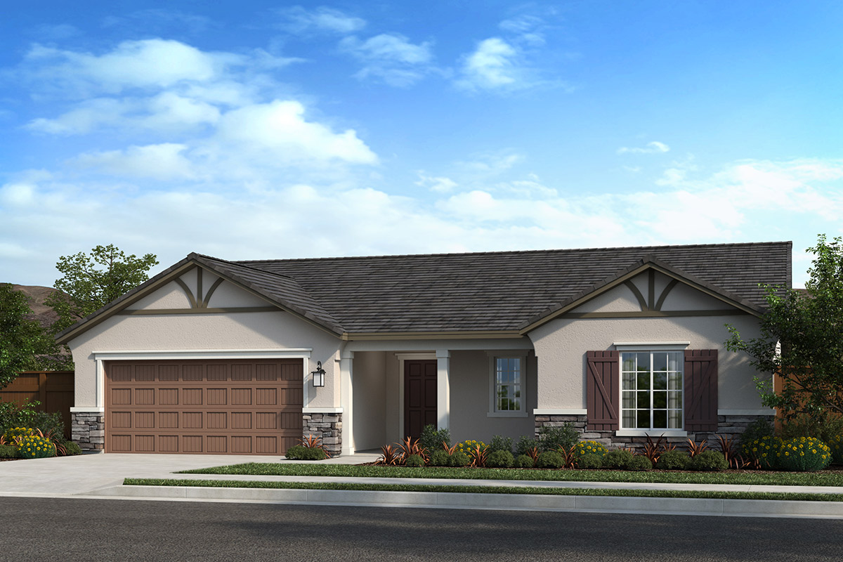 New Homes in Madera, CA - Fielding Plan 1860 Elevation D