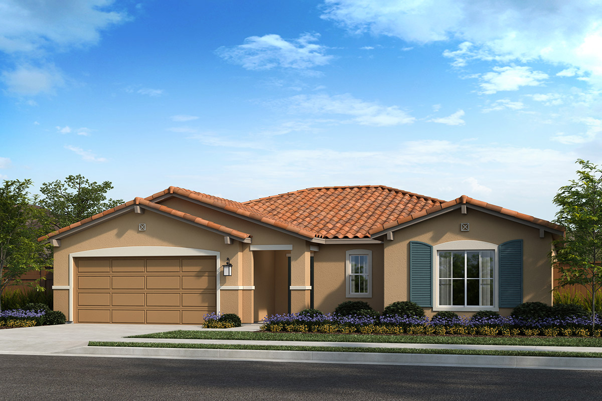 New Homes in Madera, CA - Fielding Plan 1860 Elevation E