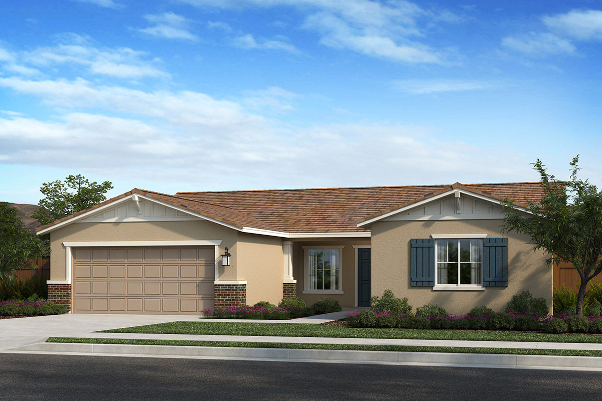 New Homes in Madera, CA - Fielding Plan 1996 Elevation B