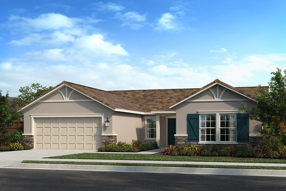 New Homes in Madera, CA - Fielding Plan 1996 Elevation D