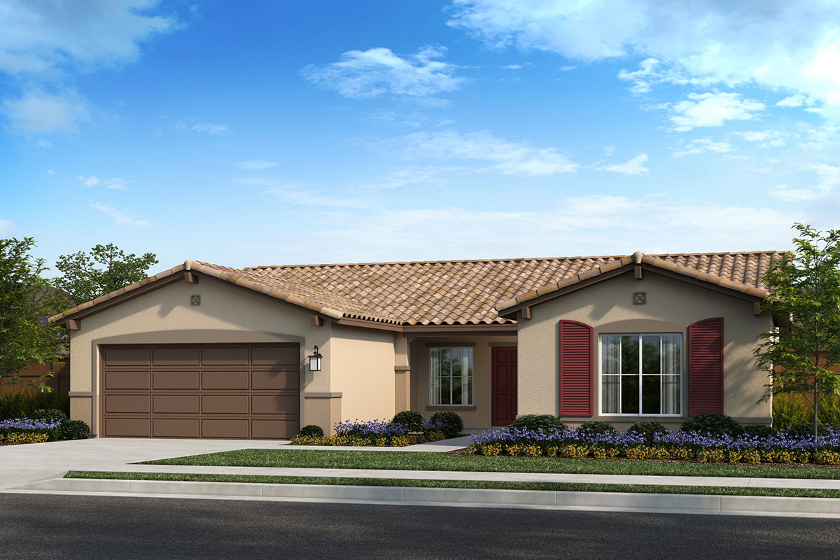 New Homes in Madera, CA - Fielding Plan 1996 Elevation E