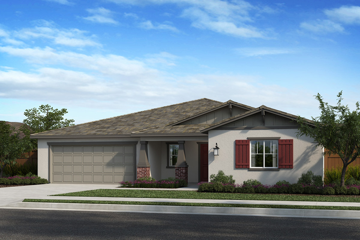 New Homes in Madera, CA - Fielding Villas Plan 2148 Elevation B