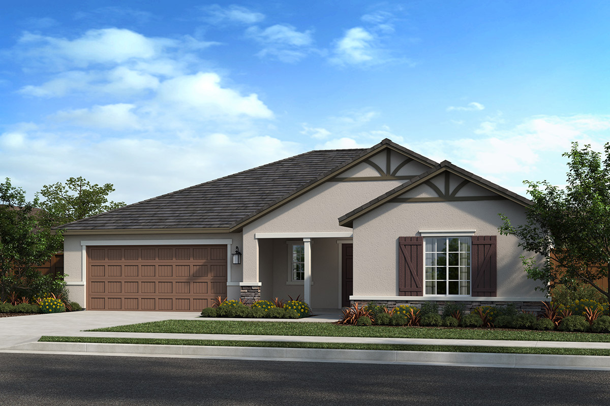 New Homes in Madera, CA - Fielding Plan 2148 Elevation D