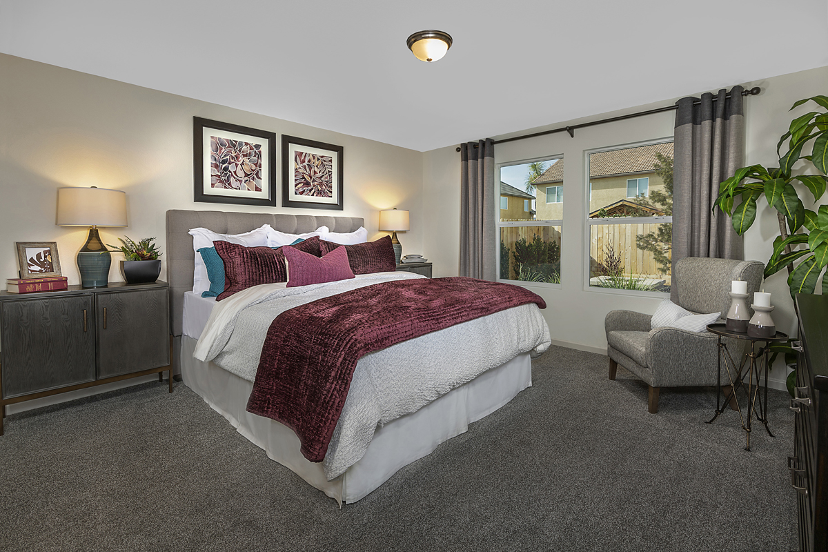 New Homes in Fresno, CA - Laurel Grove Plan 1769 Master Bedroom